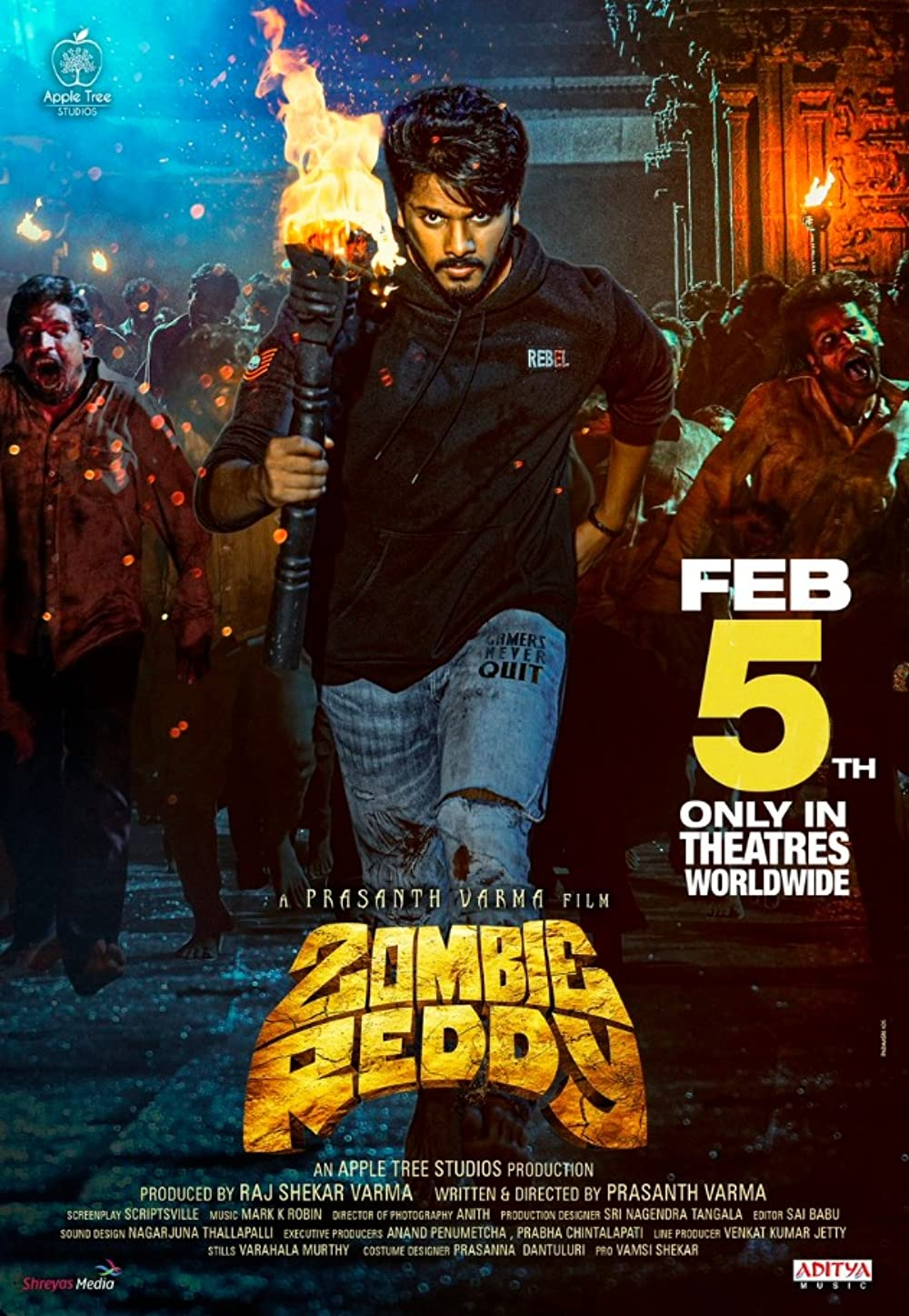 Full Movie : Zombie Reddy (2021) (Hindi) Mp4 Download ...